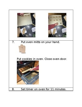 Baking Cookies with Visual Directions