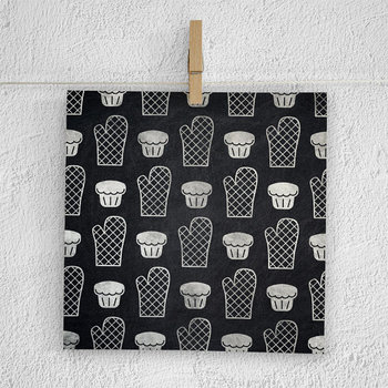 Baking Digital Paper, Kitchen Tool Patterns