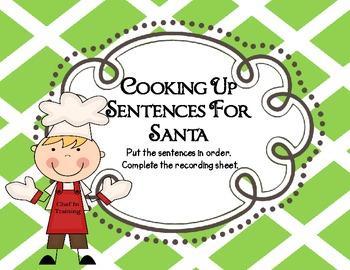 Baking For Santa--Literacy Centers