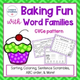 CVCe Sneaky e Word Families Activities