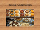 Baking Fundamentals Slideshow for FACS and Culinary Arts includes Review Game