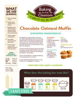 Baking Individual Oatmeal Muffins