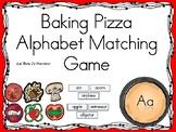 Baking Pizza Alphabet Matching Game Aa thru Zz BUNDLE