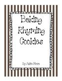 Baking Rhyming Cookies - A Rhyming Game