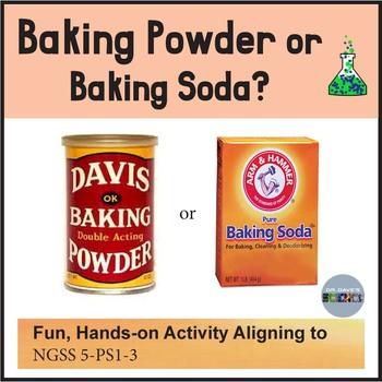 Baking Soda or Baking Powder NGSS 5-PS1-3