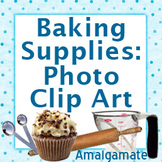 Baking Supplies: 11 Piece Photo Clip Art