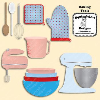 Baking Tools Clip Art