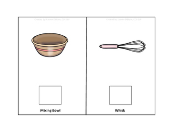 Baking Tools - Interactive Vocabulary Books