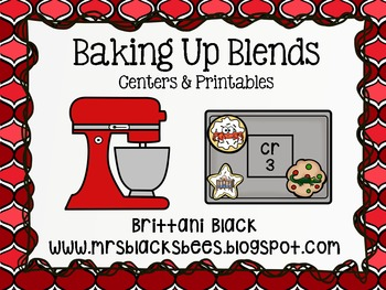 Baking Up Blends~ Centers and Printables