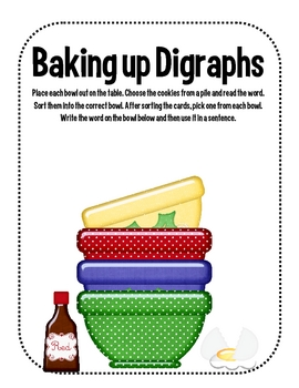 Baking Up Digraphs