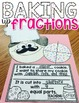 Baking Up Fractions! A Partitioning Craftivity!
