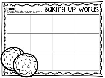 Baking Up Words
