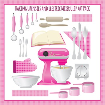 Baking Utensils - Bowls, Electric Mixer, Rolling Pin, Measuring Cups ETC.