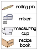 Baking Vocabulary Picture Cards