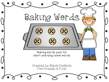 Baking Words
