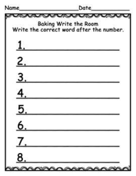 Baking Write the Room
