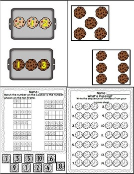 Baking a Batch of Number Sense (Numbers 1-10 Unit)