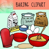 Baking and Cooking Clip Art - Color and Line Art 20 pc set