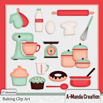 Baking and Kitchen Clip Art