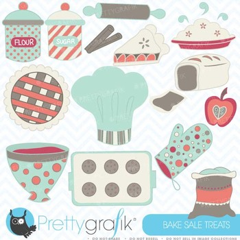 Baking clipart commercial use, vector graphics, digital clip art - CL354