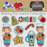 Baking for Santa Clipart Collection