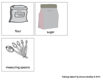 Baking pictures--great visuals to go along w/a lesson and for SPED!!!!