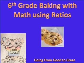 Baking with Math using Ratios