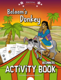 Balaam's Donkey Activity Book for Kids Ages 3-5
