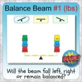 Balance Beam 1: Weights & Scales BOOM digital distance learning practice (lbs)