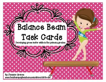 Balance Beam Task Cards