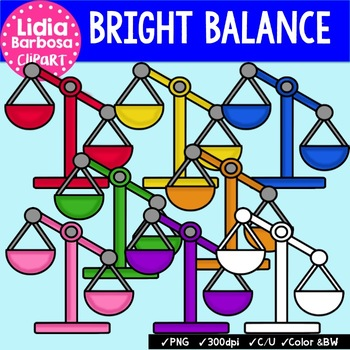 Balance { Clip Art for Teachers }