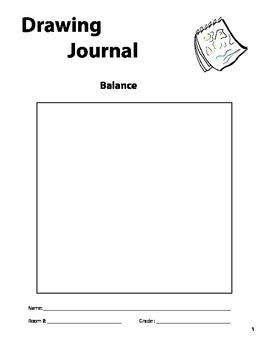 """Balance"" Drawing Journal"