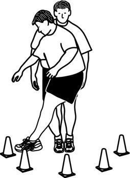 Balance Exercises Clipart