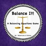 Balance It!  -  A Balancing Equations Game