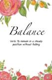 Balance Journal: Planning Tool for Homeschooling, Entrepre