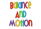 Balance & Motion Toy Invention Summative Assessment