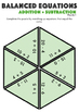 Balance The Equation Tarsia Puzzle: Addition and Subtraction - Grades 1 - 2