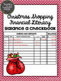 Balance a Checkbook Christmas Shopping