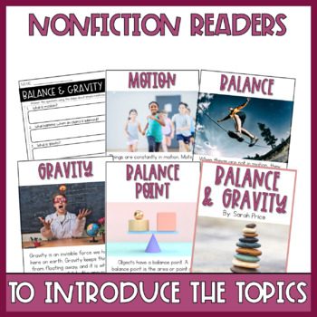 Balance and Gravity Interactive Notebook
