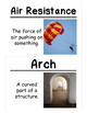 Balance and Motion Science Vocabulary Cards (FOSS Balance