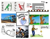 Balance and Motion Vocabulary Poster