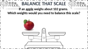 Balance that Scale