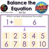 Balance the Equation Boom Cards Set 2a