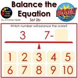 Balance the Equation Boom Cards Set 2b