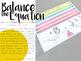 Balance the Equation Center Cards