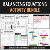 Balance the Equation - Equivalent Number Sentence Bundle Grades 1-3