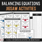 Balance the Equation - Equivalent Number Sentence Jigsaw Activity