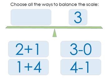 Balance the Equation FREE Boom Cards