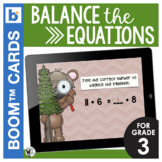 Balance the Equations (Addition and Subtraction) Digital T