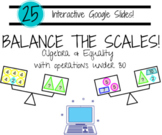 Balance the Scales - Algebra/Equality with Addition and Subtraction - Grade 2-3
